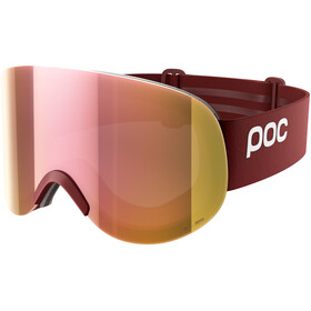 POC Lid Clarity Goggles Lactose Red/Spektris Rose Gold